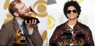 I Bon Iver sono incazzato per il Grammy Wins di Bruno Mars