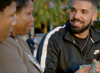 "Drake regala un milione di dollari nel video di ""God's Plan"""