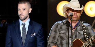 Toby Keith contribuisce al nuovo album di Justin Timberlake