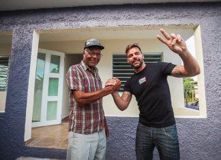 Ricky Martin per il Sociale - Nuove Case ai Senza Tetto dopo gli Uragani di Porto Rico