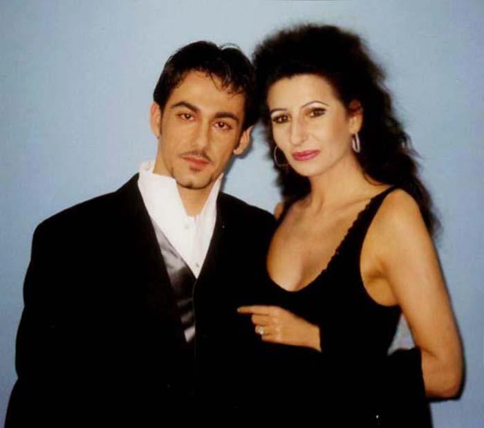 Lucia Aliberti con Piero Mazzocchetti