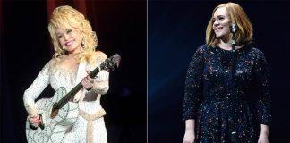 Adele si è vestita da Dolly Parton ed è iconica