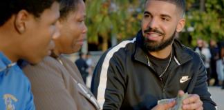 """Drake regala un milione di dollari nel video di """"God's Plan"""""""